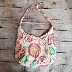 Thirty One Reversible Hobo Inside Out Bag